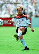 Andreas BREHME - Germany - FIFA Weltmeisterschaft 1994