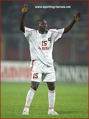 Amir Damar - Sudan - African Cup of Nations 2008