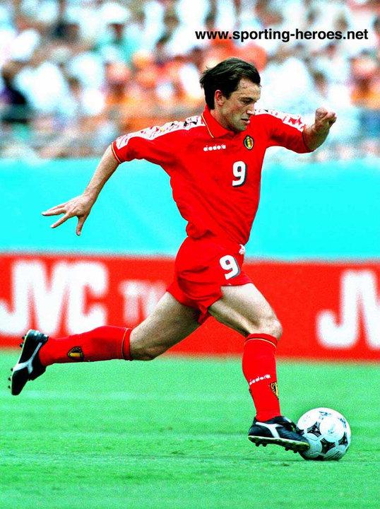 Marc degryse fifa coupe du monde wereldbeker 1994 belgique belgie belgium - Coupe du monde football 1994 ...