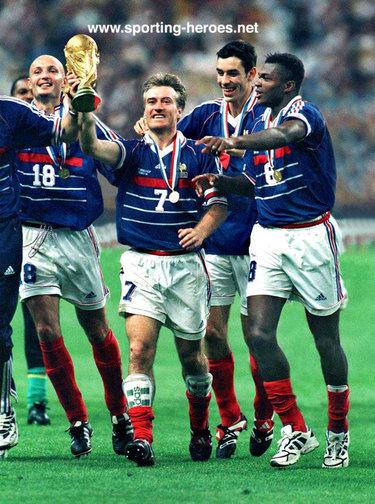 Didier deschamps fifa coupe du monde 1998 france - France 98 coupe du monde ...