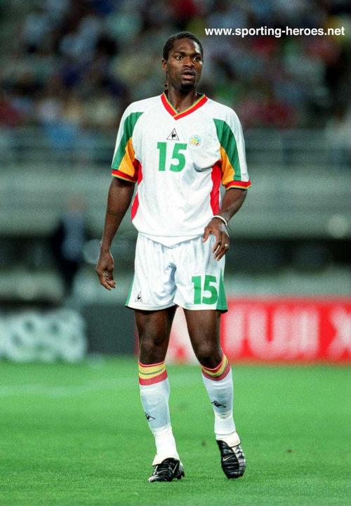Salif diao fifa coupe du monde 2002 world cup finals senegal - Coupe du monde de foot 2002 ...
