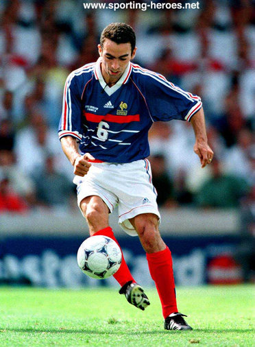 Youri djorkaeff fifa coupe du monde 1998 france - France 98 coupe du monde ...