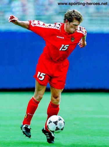 Marc emmers fifa coupe du monde wereldbeker 1994 belgique belgie belgium - Coupe du monde football 1994 ...