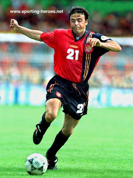 luis enrique uefa campeonato europa 1996 espa241a spain