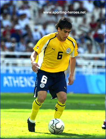 Celso Esquivel - Paraguay - Juegos Olimpicos 2004