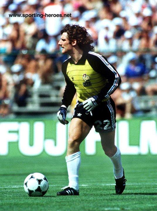 Jean luc ettori fifa coupe du monde 1982 france - Coupe du monde france allemagne 1982 ...