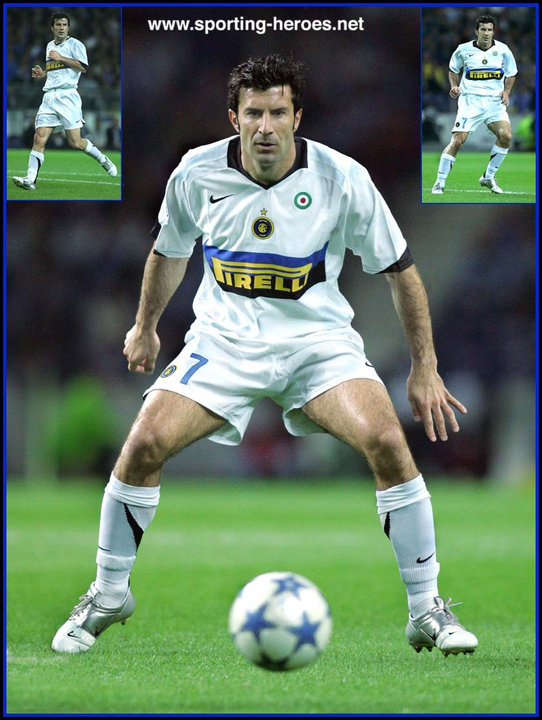 new product 13982 a9f7e Luis Figo - UEFA Champions League 2005/06 - Internazionale