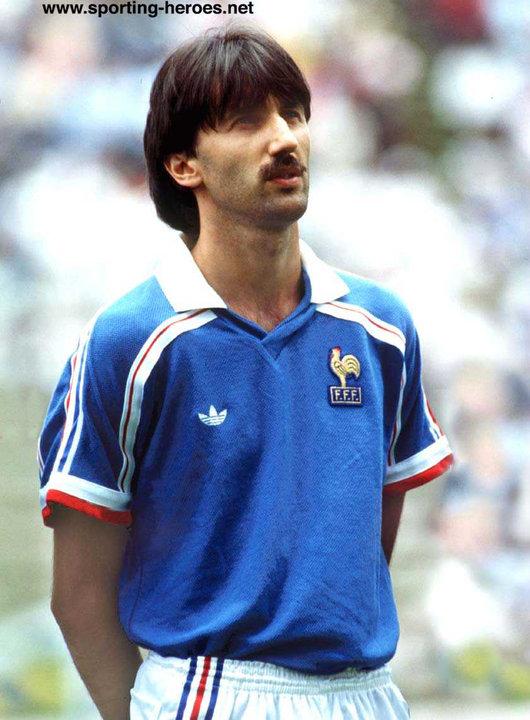 Bernard genghini fifa coupe du monde 1986 1982 france - Coupe du monde france allemagne 1982 ...