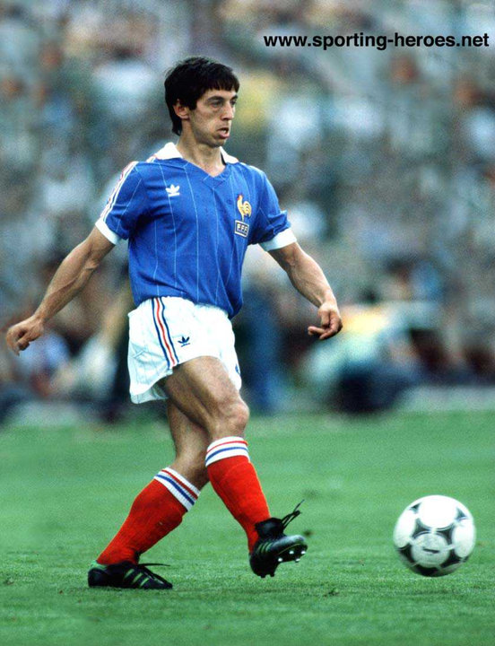 Alain giresse fifa coupe du monde 1982 france - Coupe du monde de football 1982 ...