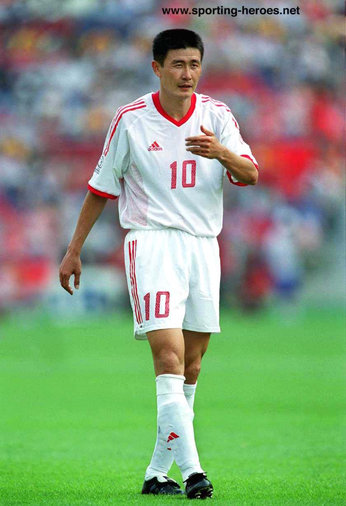 Hao Haidong - China - FIFA World Cup 2002