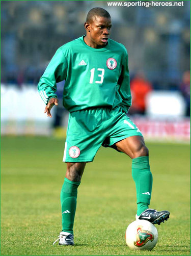 Pius Ikedia - Nigeria - African Cup of Nations 2004