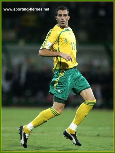 Pierre Issa - South Africa - African Cup of Nations 2006