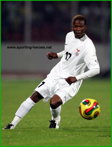 Rainford Kalaba - Zambia - African Cup of Nations 2008