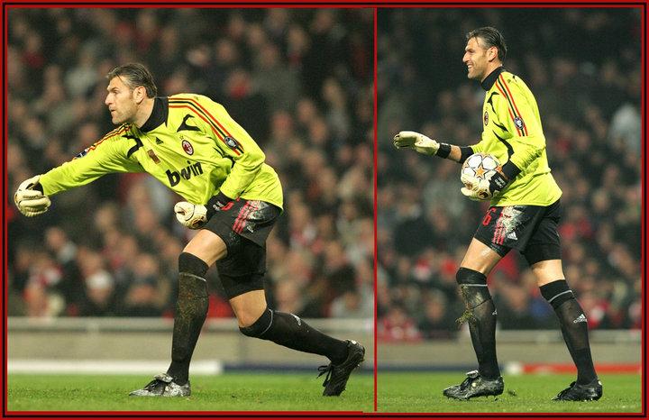 Zeljko Kalac Uefa Champions League 2007 08 Milan