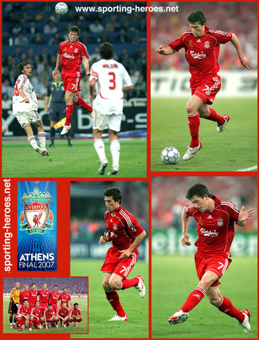 Harry Kewell - UEFA Champions League Final 2007 - Liverpool FC