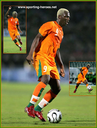 Arouna kone coupe d 39 afrique des nations 2006 cote d - Coupe d afrique des nation ...