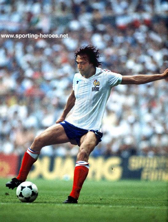 Jean francois larios fifa coupe du monde 1982 france - Coupe du monde france allemagne 1982 ...