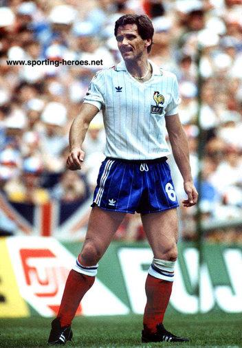 Christian lopez fifa coupe du monde 1982 france - Coupe du monde france allemagne 1982 ...