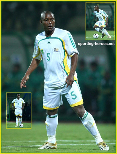 Mbulelo Mabizela - South Africa - African Cup of Nations 2006