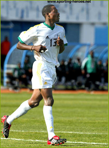 Benson Mhlongo - South Africa - African Cup of Nations 2004