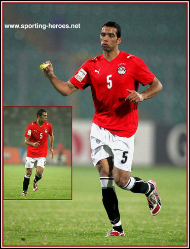 Shady Mohamed - Egypt - 2008 African Cup of Nations