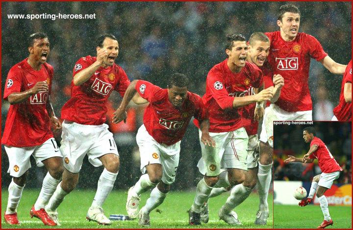 Nani Uefa Champions League Final 2008 Manchester United Fc