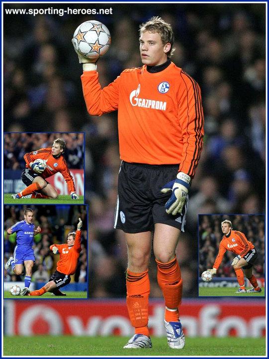 Manuel Neuer Uefa Champions League 2007 08 Schalke