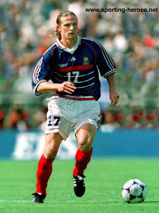 Emmanuel petit fifa coupe du monde 1998 france - Emmanuel petit coupe du monde 1998 ...