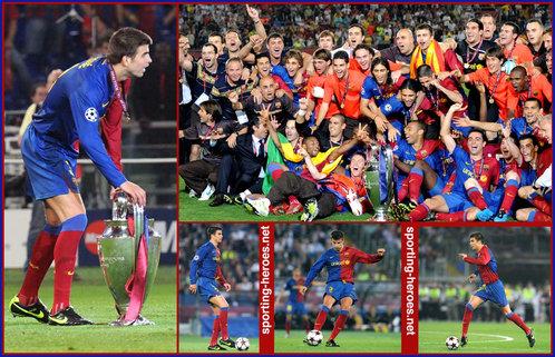 Gerard Pique - Final UEFA Champions League 2008/09