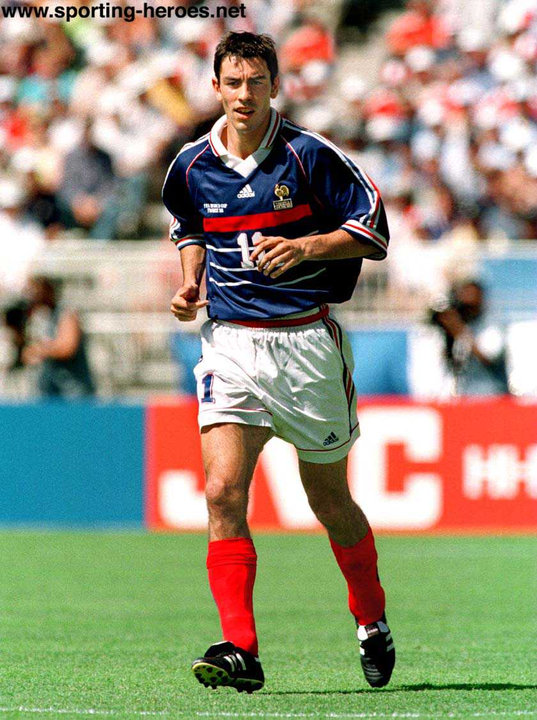 Robert pires fifa coupe du monde 1998 france - Coupe du monde 1998 tunisie ...
