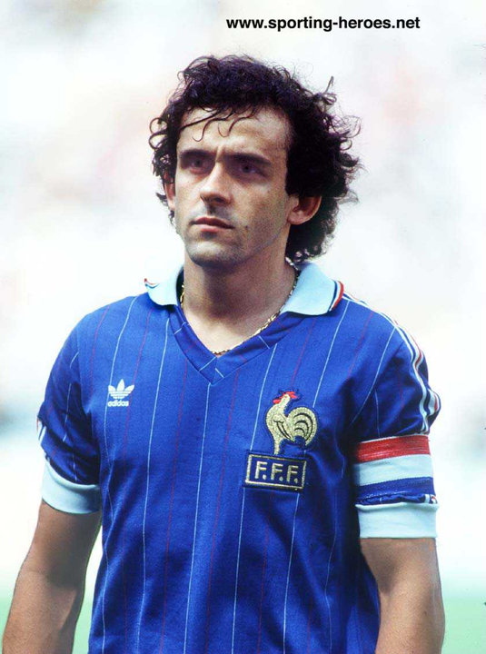 Michel platini best free kick takers in football soccer galerry wallpaper - Coupe du monde france allemagne 1982 ...