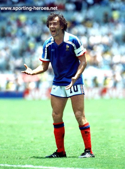Michel platini fifa coupe du monde 1986 france - Coupe du monde france allemagne 1982 ...