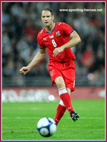 Jan Polak - Czech Republic - UEFA Evropan sampionáty 2008