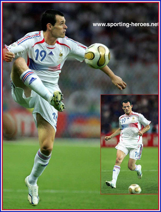 Willy sagnol fifa coupe du monde 2006 world cup france - Coupe du monde de football 2006 ...