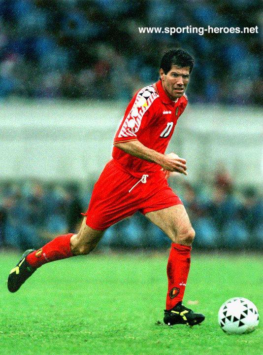 Enzo scifo fifa coupe du monde wereldbeker 1994 belgique belgie belgium - Coupe du monde football 1994 ...
