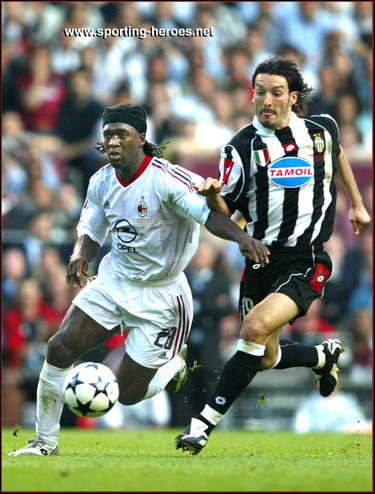 Clarence Seedorf - Finale UEFA Champions League 2003 - Milan