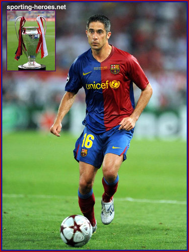 SYLVINHO - Barcelona - Final UEFA Champions League 2008/09