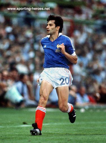 Gerard soler fifa coupe du monde 1982 france - Coupe du monde france allemagne 1982 ...