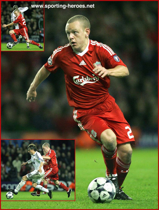 Jay Spearing - UEFA Champions League 2008/09