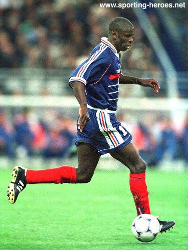 Lilian thuram fifa coupe du monde 1998 france - Joueur coupe du monde 98 ...