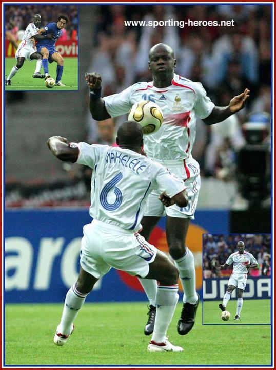 Lilian thuram fifa coupe du monde 2006 france - France portugal coupe du monde 2006 ...