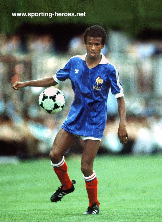 Jean tigana fifa coupe du monde 1982 france - Coupe du monde france allemagne 1982 ...
