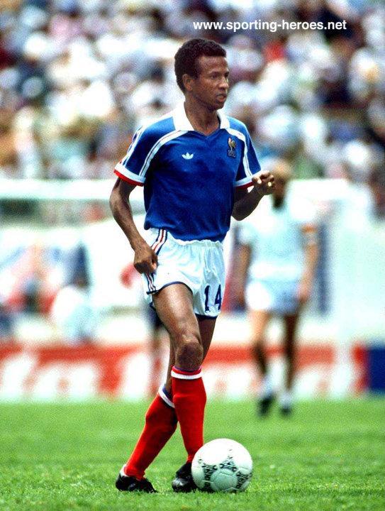 Jean tigana fifa coupe du monde 1986 france - Coupe du monde mexique 1986 ...