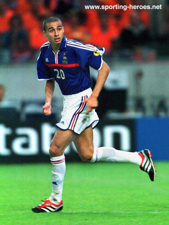 David trezeguet uefa championnat d 39 europe 2000 france for David trezeguet
