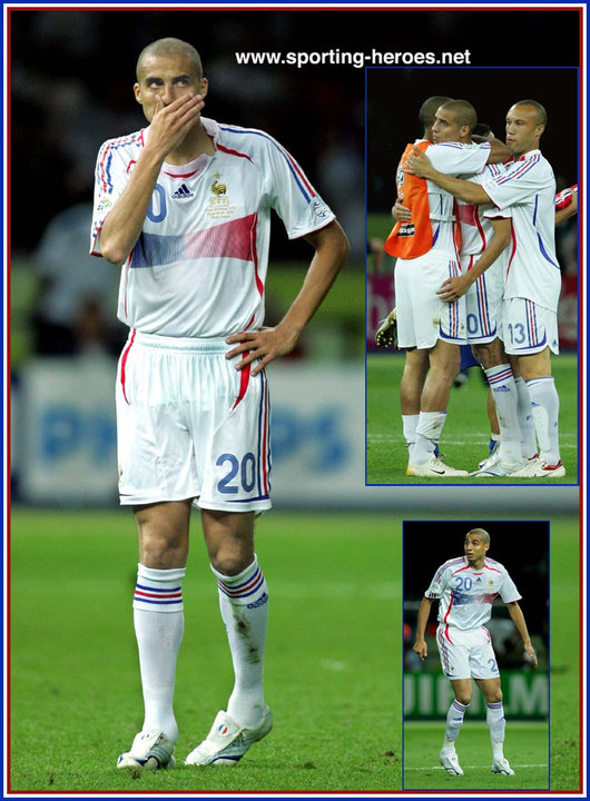 David trezeguet fifa coupe du monde 2006 france - Phase finale coupe du monde 2006 ...