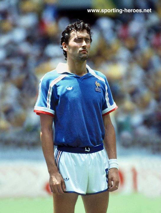 Thierry tusseau fifa coupe du monde 1986 france - Coupe du monde mexique 1986 ...