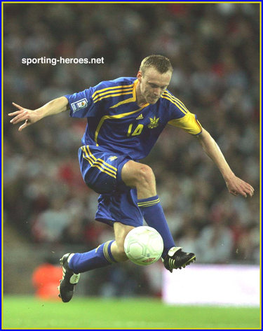 Sergiy Valyayev - Ukraine - FIFA World Cup 2010 Qualifying
