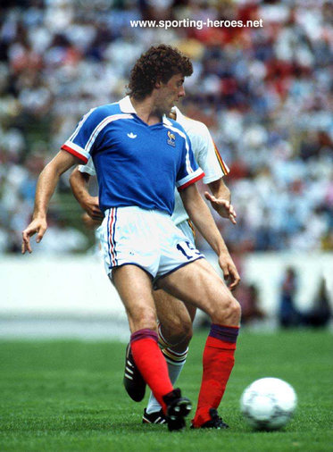 Philippe Vercruysse - France - FIFA Coupe du Monde 1986