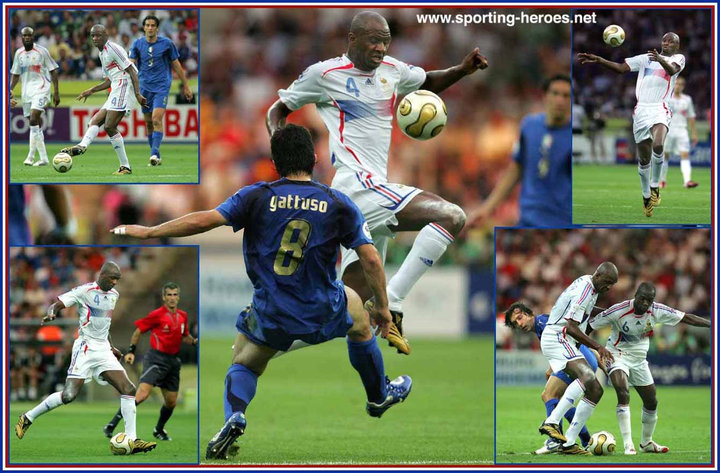 Patrick vieira fifa coupe du monde 2006 finale world cup france - Coupe du monde de football 2006 ...