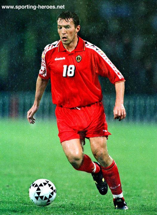 Marc wilmots fifa coupe du monde wereldbeker 1994 belgique belgie belgium - Coupe du monde football 1994 ...